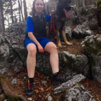 Am Berg unterwegs