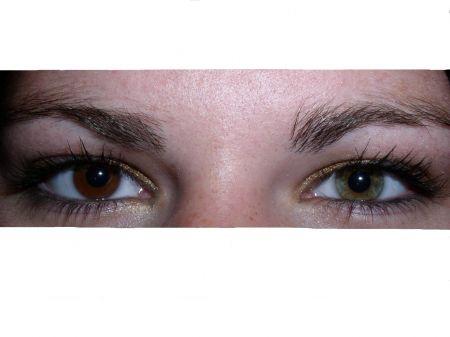 Verschiedene Augenfarben